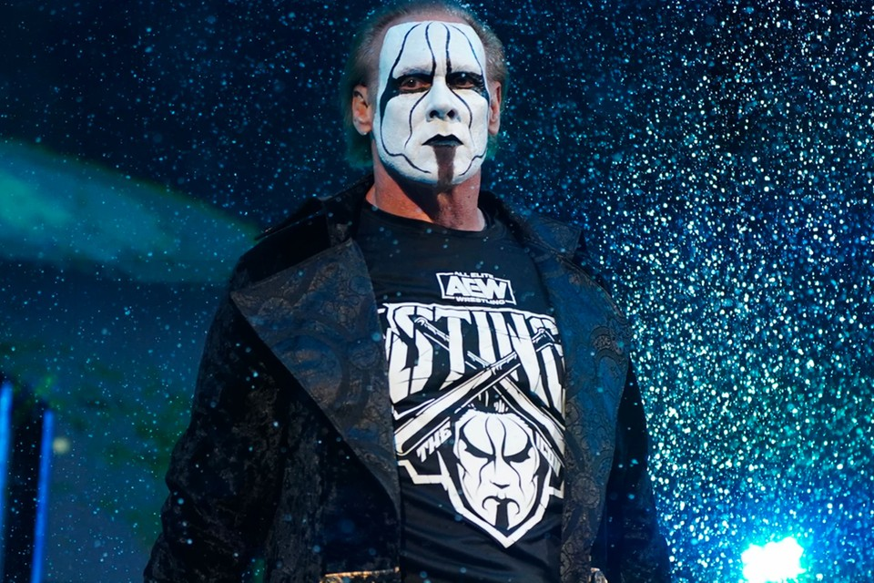 WWE Legend Sting Confirms He's Coming Back To Action In AEW 12