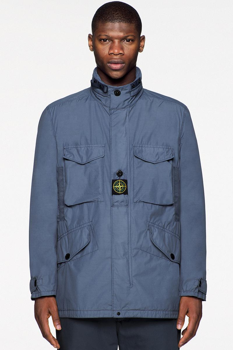 stone island spring summer 2021 icon imagery outerwear italian details moncler buy cop purchase