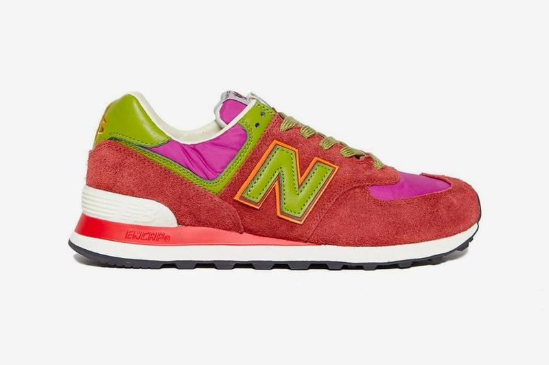 stray rats new balance 574 green teal red purple pink release info photos price store list buying guide