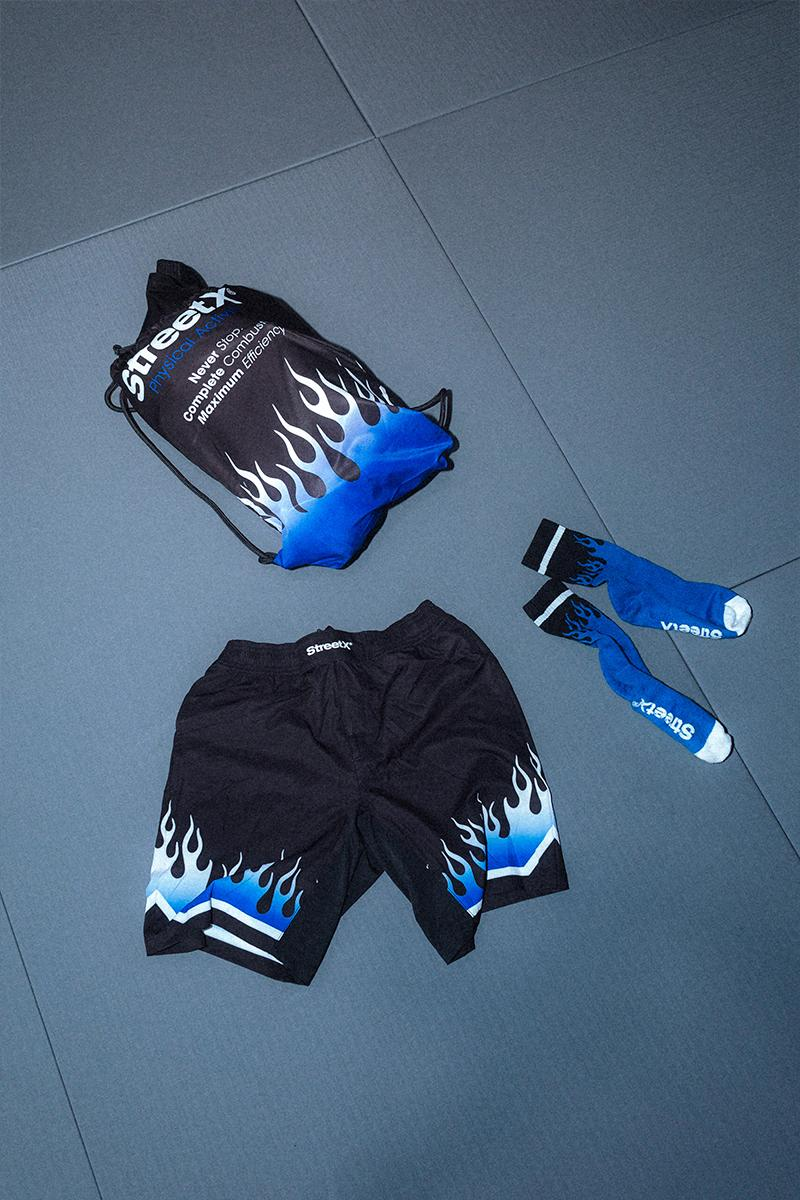 StreetX Flame Gi Holiday 2020 Capsule Release Buy Price Info Black White