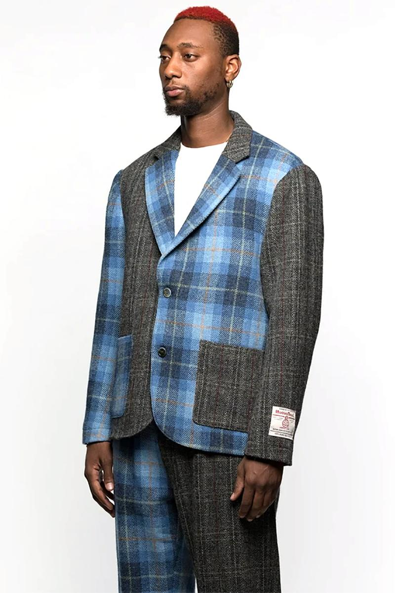 Stüssy harris tweed holiday 2020 collection new era cap beach pant sport coat release info photos buying guide