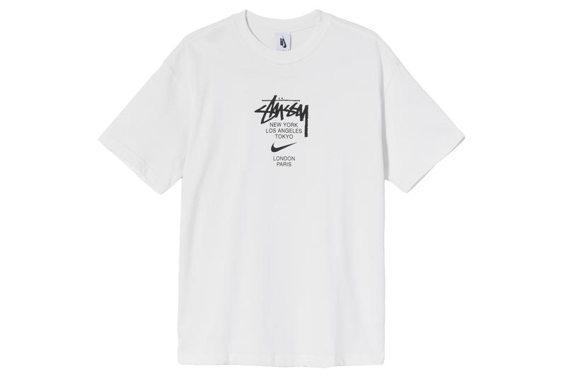 Stüssy Nike Air Force 1 Apparel Collecton First Look Release Info Date Buy Price sweatsuits T-shirts padded bottoms bucket hats beanies Benassi JDI slides