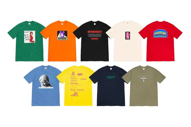 Supreme Winter 2020 Tees Release Info Buy Price Date