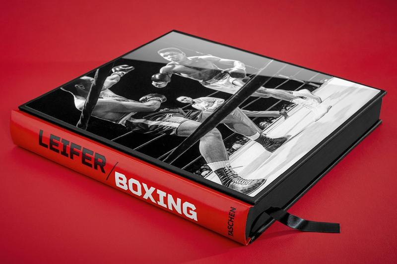 Taschen neil leider photography boxing book release information iconic images