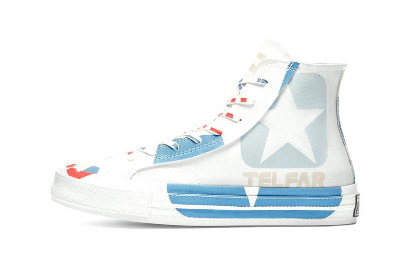 telfar converse chuck 70 169068C 169066C black white white blue orange release date info photos pricing store list telfar clemens paris fashion week