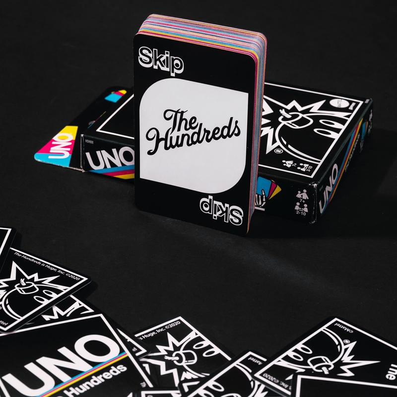 the hundreds uno collaboration card game t-shirt hoodie snapback release date info photos buying guide