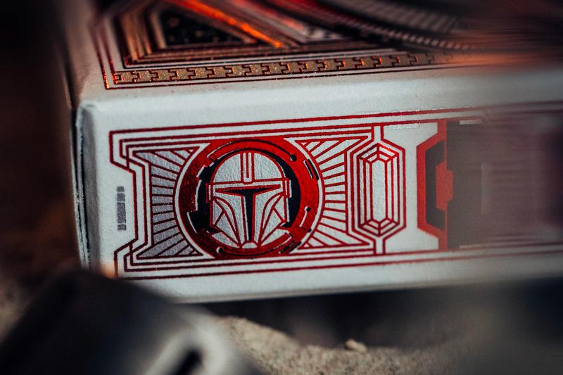 theory11 the mandalorian din djarin star wars baby yoda grogu moff gideon cara dune ig 11 playing cards deck disney plus