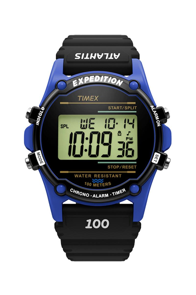 timex expedition atlantis Nuptse collection Japan digital forest mountain rescue climbers inspired technical