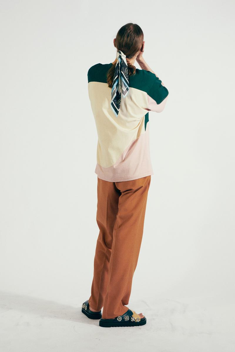 "TOGA VIRILIS Spring/Summer 2021 ""Cities of the Interior"" Collection Lookbook Yasuko Furuta Menswear Shoes Sandals Boots Cowboy USA Western Influence Shirts Tailoring Frills Embellishments"