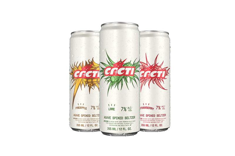 travis scott cacti agave spiked seltzer release info cactus jack march 2021