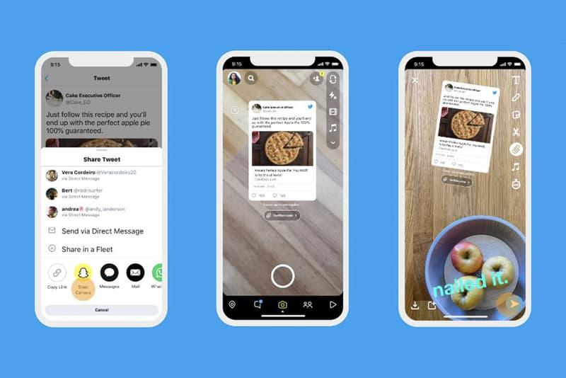 Twitter Tweets Share Instagram Snapchat social media tech technology platform updates