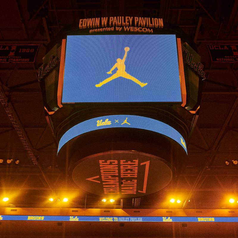 ucla bruins nike jordan brand partnership basketball football info