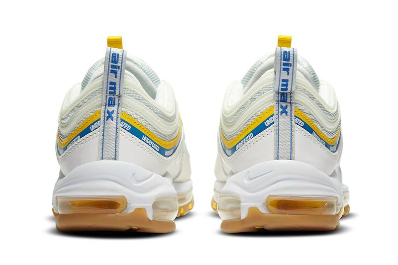 Undefeated Nike Air Max 97 UCLA Bruins Blue Gold Colors DC4830-100 Release