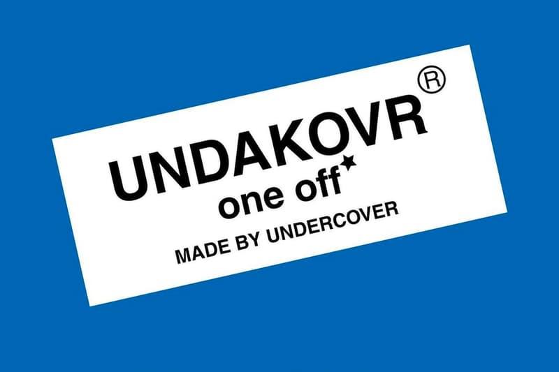 UNDERCOVER New UNDAKOVR One Off Laboratory Capsule aoyama handmade one of one custom jun takahashi