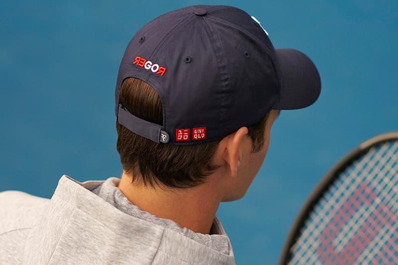 UNIQLO Roger Federer First RF Logo Cap Release Nike Branding Dispute Info