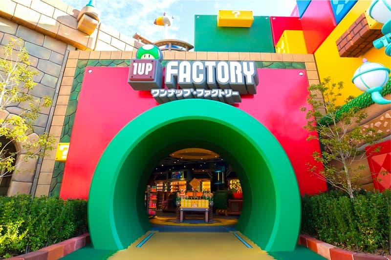Universal Studios Japan Super Nintendo World Map Release Amusement Park Zone Food Super Mario