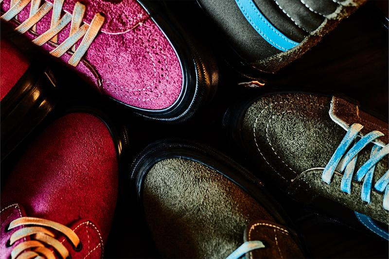 vans vault billy's tokyo chukka boot sk8-h suede olive pink blue orange release date info pricing buying guide photos