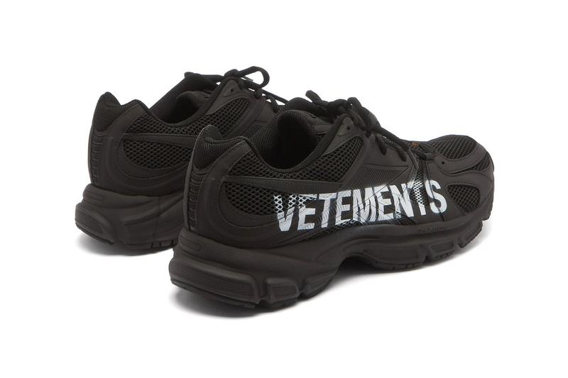 Vetements x Reebok Spike Runner 200 Artisanal Logo Handpainted Branded Guram Gvasalia Mesh Rubber Trainer Sneaker Footwear Luxury Performance OG DMX Ride