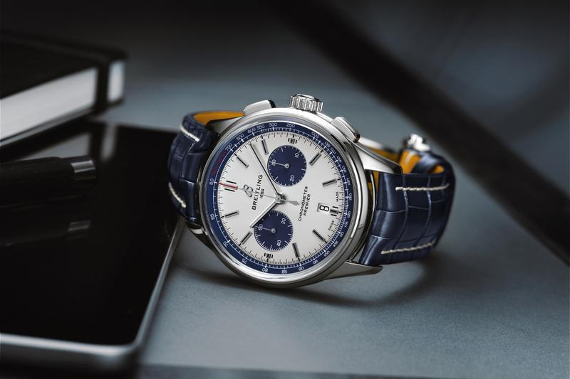 watches of switzerland breitling premier b01 chronograph watches timepiece accessories