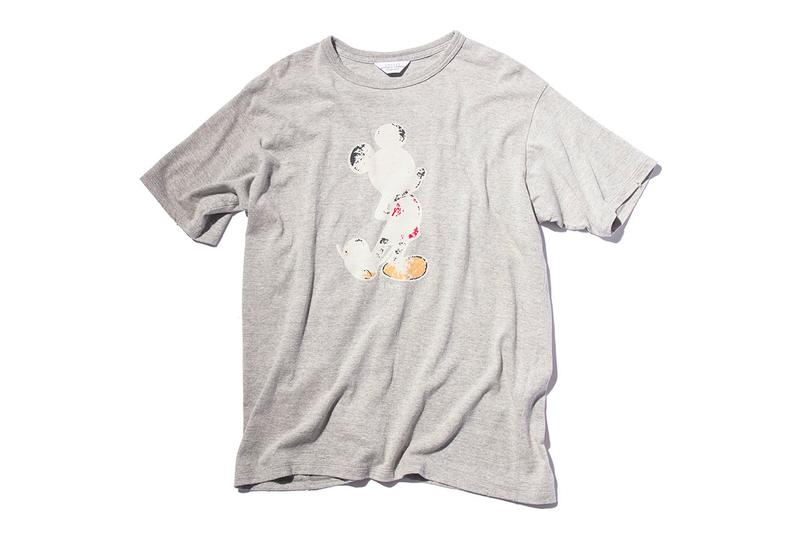 weber UNUSED Capsule Collection Release Mickey Mouse T shirt Flannel Shirt Pants Buy Price Info