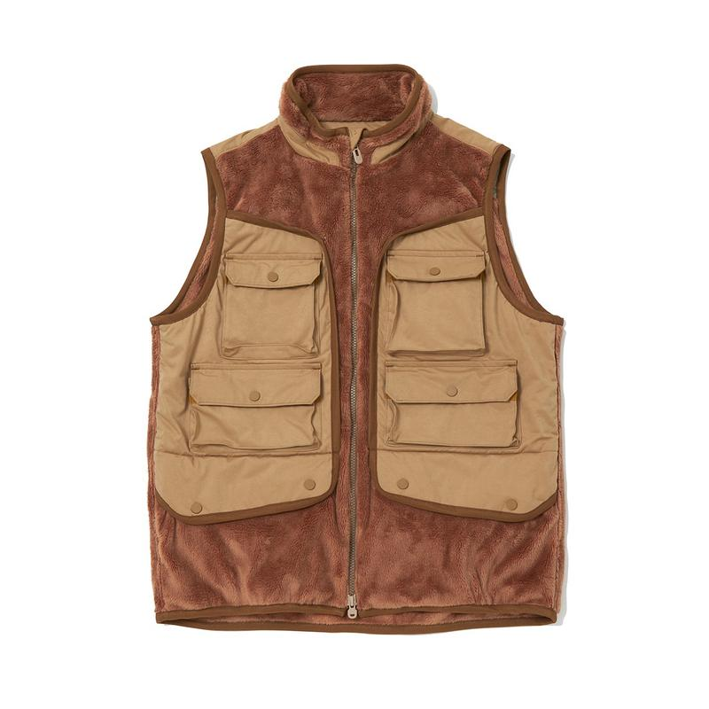WHITE MOUNTAINEERING FW20 Pendleton, Patchwork Fleece capsule collection jacket gore tex vest jacket bag neck warmer accessories collaboration fall winter 2020 collection japan