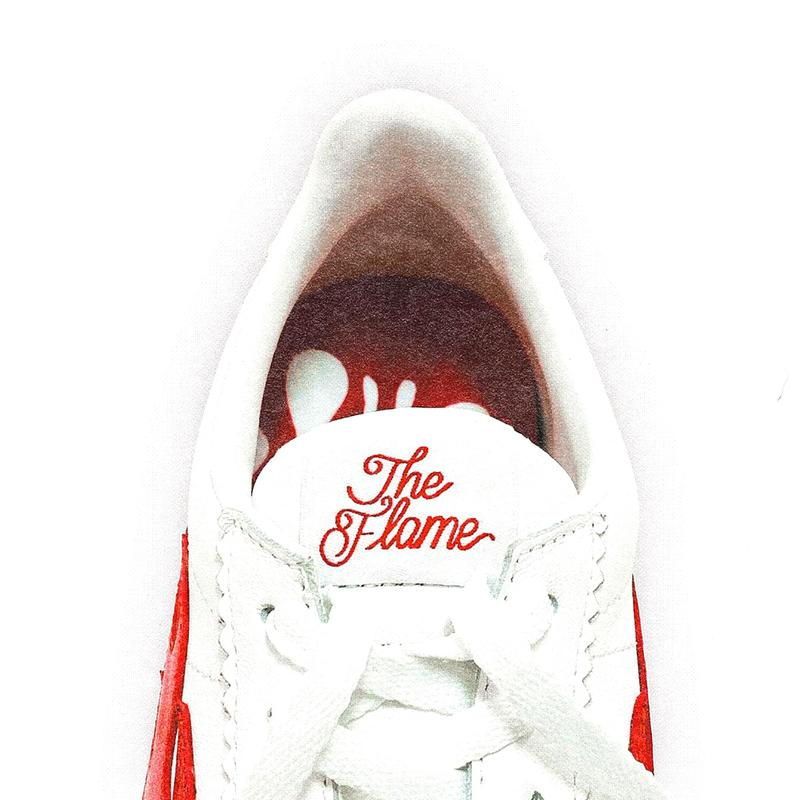 yg 4hunnid the flame block runner sneakers release info white red black blue photos store list buying guide march 2021