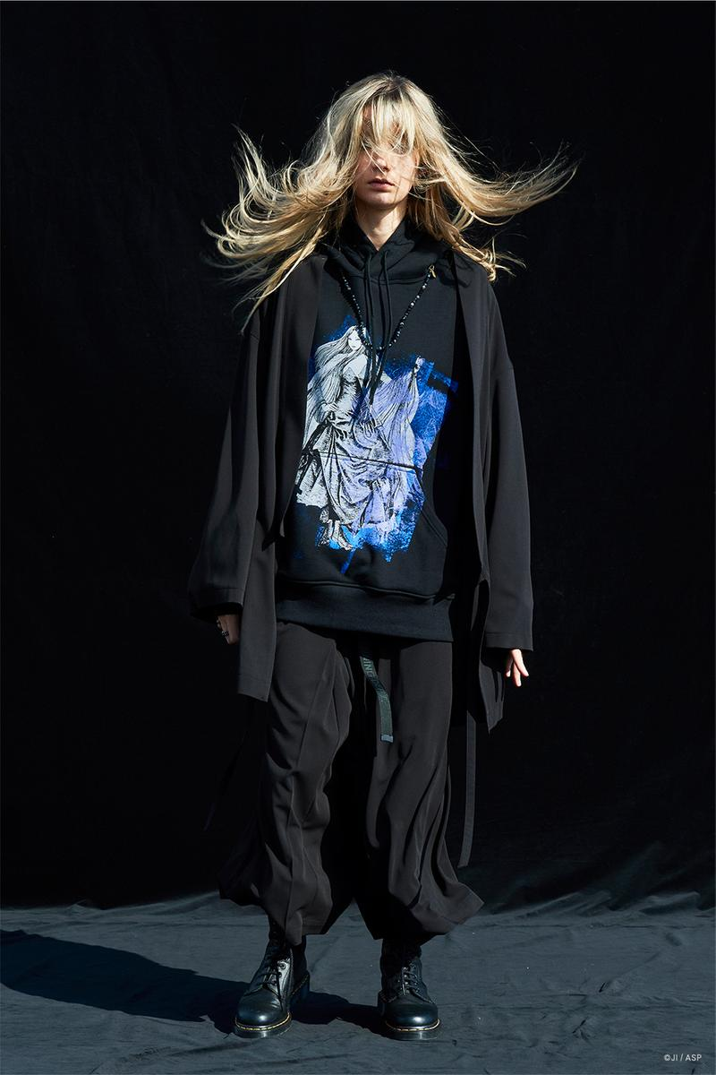 S'YTE Links Up With Manga Artist Junji Ito For Graphic-Heavy Collaboration Fashion Illustrations
