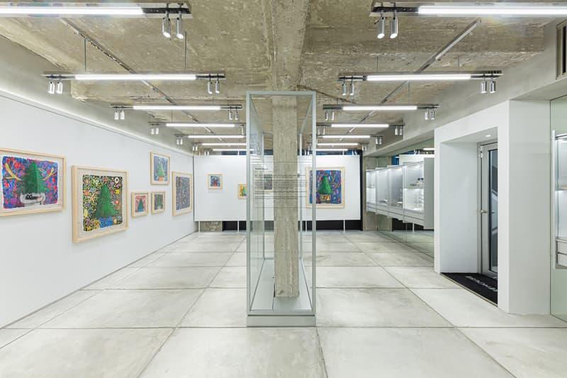 yuichi hirako growth rings warehouse gallery hong kong exhibition paintings artworks