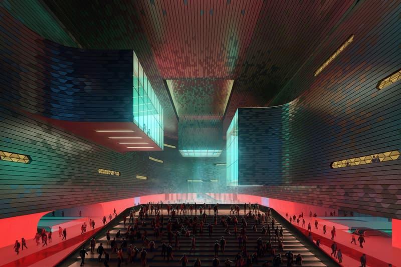 zaha hadid architects china shenzhen gaungming park science and technology museum