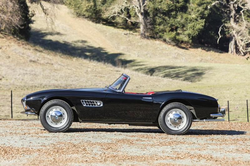 1959 BMW 507 Series II Roadster Bonhams Auction Collectible classic cars automotive auctions collectible car