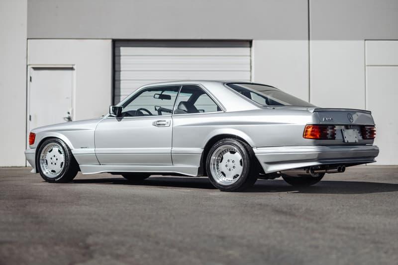 1989 Mercedes Benz 560 SEC AMG 6 0 rare Wide body sothebys auction house cars vehicles automotive retro vintage
