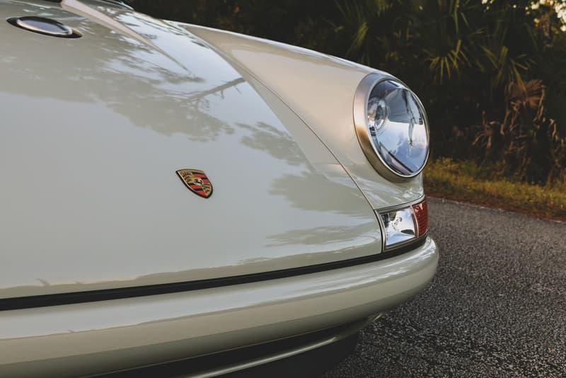 1989 Porsche 911 Reimagined by Singer Vehicle Design 964 Retro Restomod Modified Custom Built Client Car For Sale RM Sotheby's Luxury Californian German Automotive Sportscar 4 Liter Flat Six Engine Carbon Fiber Rare Unique One-Off