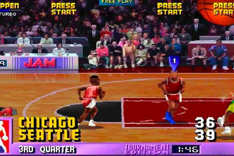 NBA Jam Tournament Edition 2021 Roster Update 1994 Lebron James James Harden Kevin Durant Steph Curry Alex Caruso Bam Adebayo LaMelo Ball