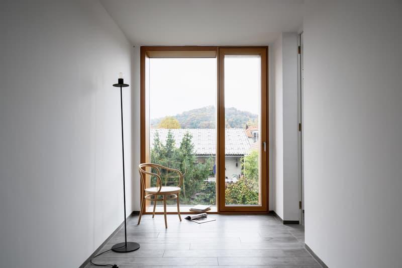 ARHITEKTURA's Double Brick House in Slovenia design Ljubljana Rožna Dolina interior subtraction design