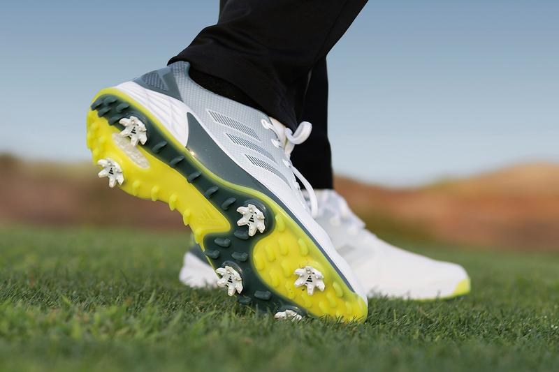 Adidas Golf Lightweight Spiked ZG21 with Boost Technology Waterproof Speed Stability Swing Performance