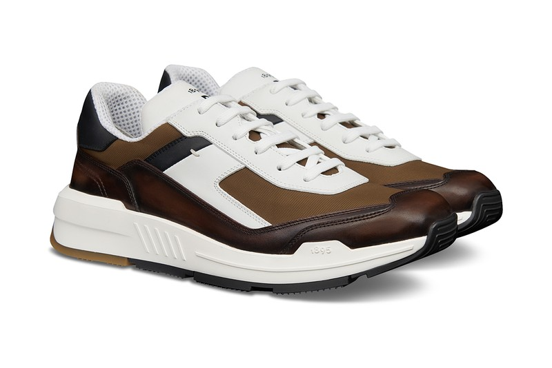 "Berluti's ""Pulse"" Sneaker Channels Flashy New Wave Hues"
