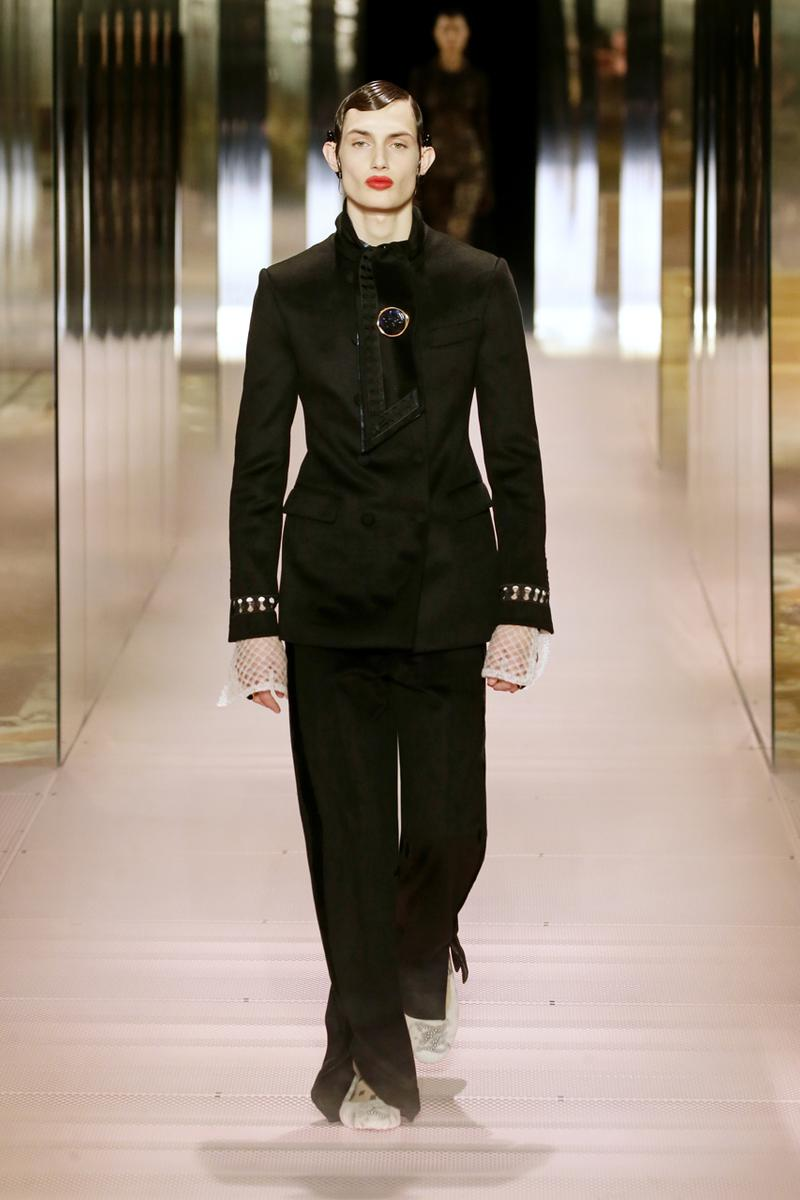 Fendi Couture Spring/Summer 2021 Runway Collection ss21 kim jones silvia venturini menswear womenswear bella hadid gigi cara delevingne model