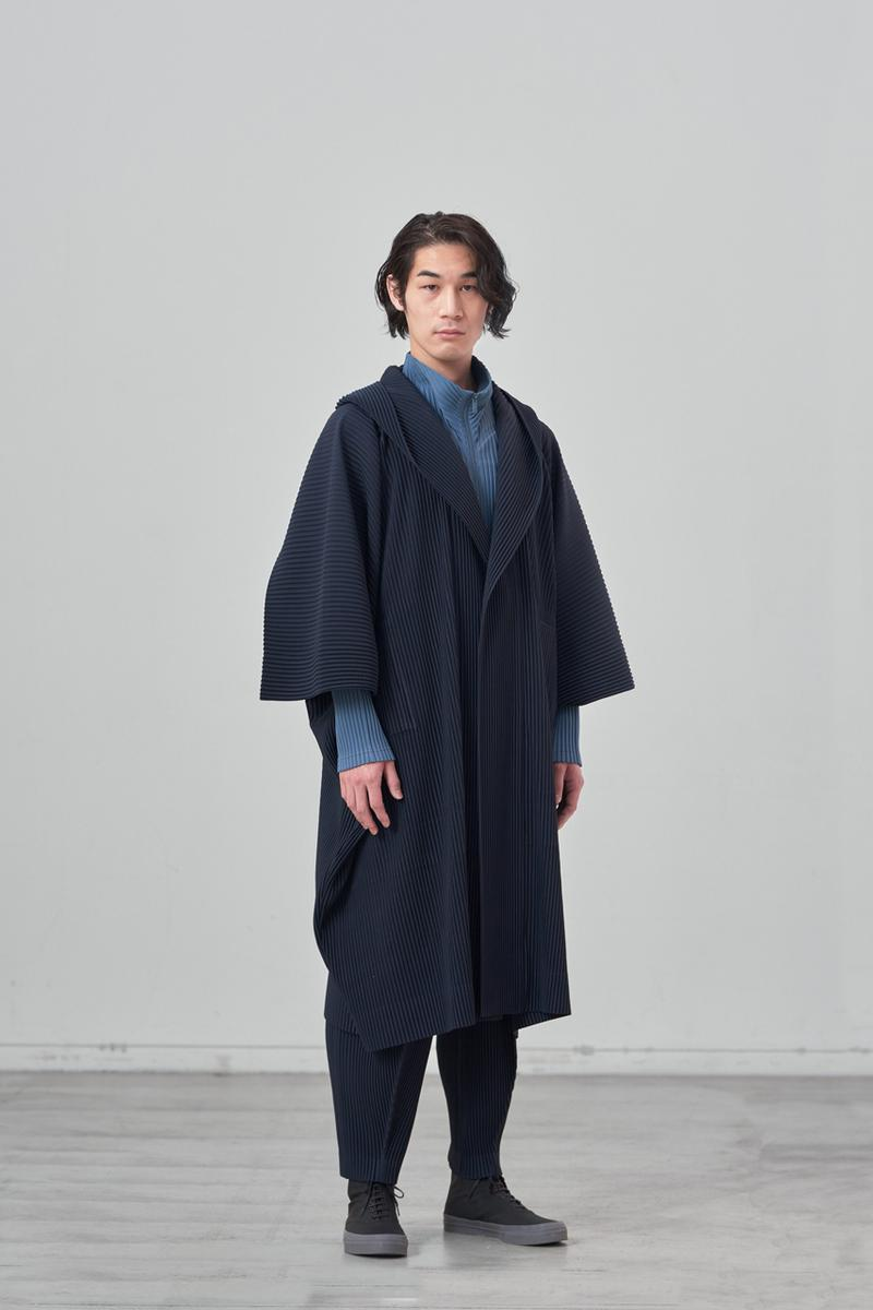 Homme Plissé Issey Miyake Fall/Winter 2021 Collection fw21 lookbook