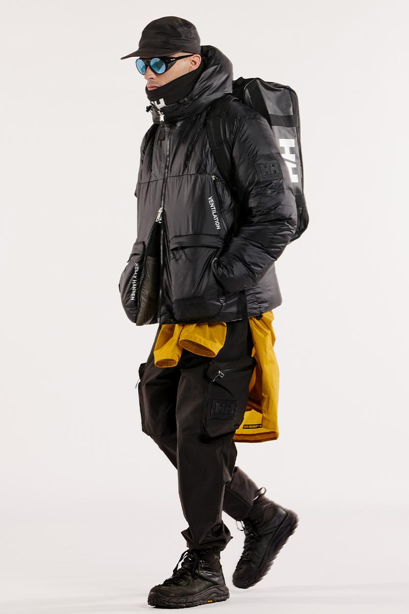 Helly Hansen archive collection fall winter 2021 release information