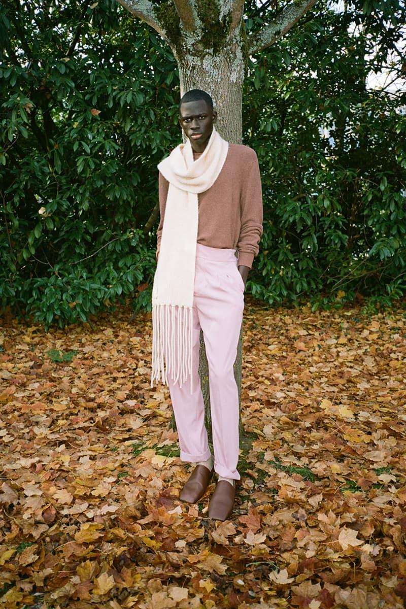 Nanushka Pre-Fall 2021 Collection Lookbook menswear denim print pattern sandor sandra
