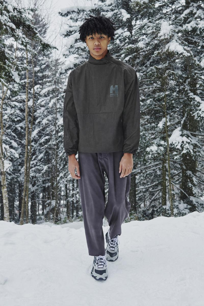 WHITE MOUNTAINEERING Fall/Winter 2021 Collection lookbook fw21 japan collaborations Mizuno, GORE-TEX, Millet, UGG, Saucony, Danner, Gramicci, Briefing