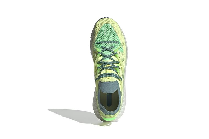 adidas 4d fusio semi frozen yellow hazy emerald FY3603 release info store list buying guide photos futurecraft