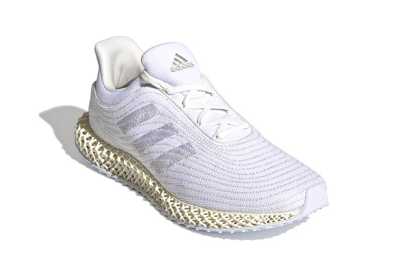 """adidas 4D Parley """"Cream White/Aluminium"""" FZ0596 Parley for the Oceans Recycled Waste Plastic Primeknit Weave BOOST Running Shoe Footwear Three Stripes Release Information Drop Date Closer First Look Shoes Trainers"""