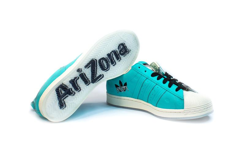 AriZona adidas Originals Superstar 2021 Capsule menswear streetwear sneakers shoes kicks trainers runners ss21 spring summer 2021 iced tea info