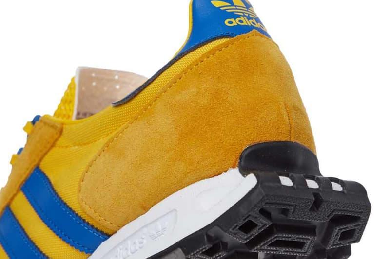 Adidas originals racing 1 sneaker gold cobalt blue yellow release information