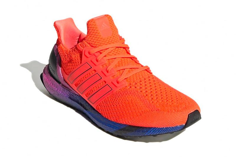 adidas ultra boost dna topography Solar Red gw4927 shoes footwear runners spring summer 2021 collection ss21 three stripes info