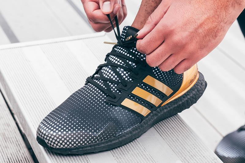 adidas running originals ultraboost dna patrick mahomes kansas city chiefs super bowl liv nfl H02868 cloud white gold metallic core black official release date info photos price store list buying guide