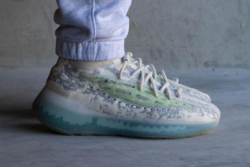 adidas yeezy boost 380 alien blue reflective rf GW0304 white gray green official release date info photos price store list buying guide