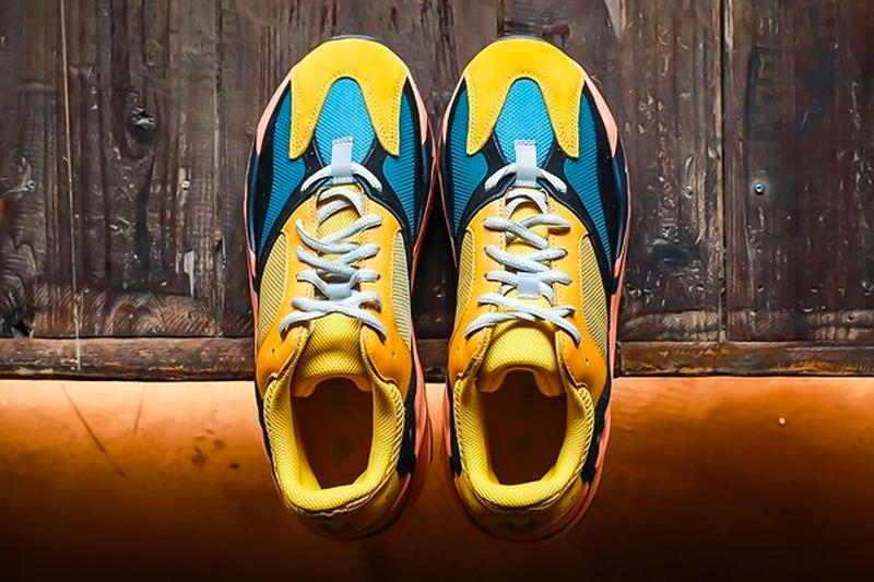 adidas YEEZY BOOST 700 Sun On Foot Closer Look Release Info Price Buy Yellow Orange Kanye West