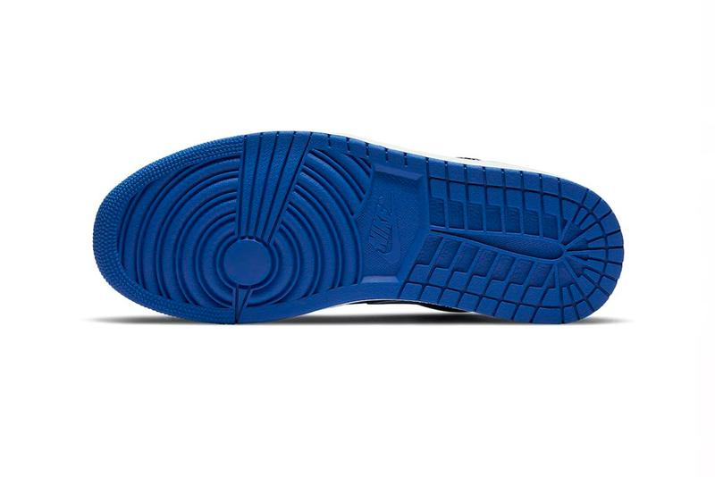 Take a Closer Look at Air Jordan 1 Low in Black and Blue Tones sneakers footwear Travis Scott Suede Jordan Brand kicks shoes sneakers trainers  dh0206-400